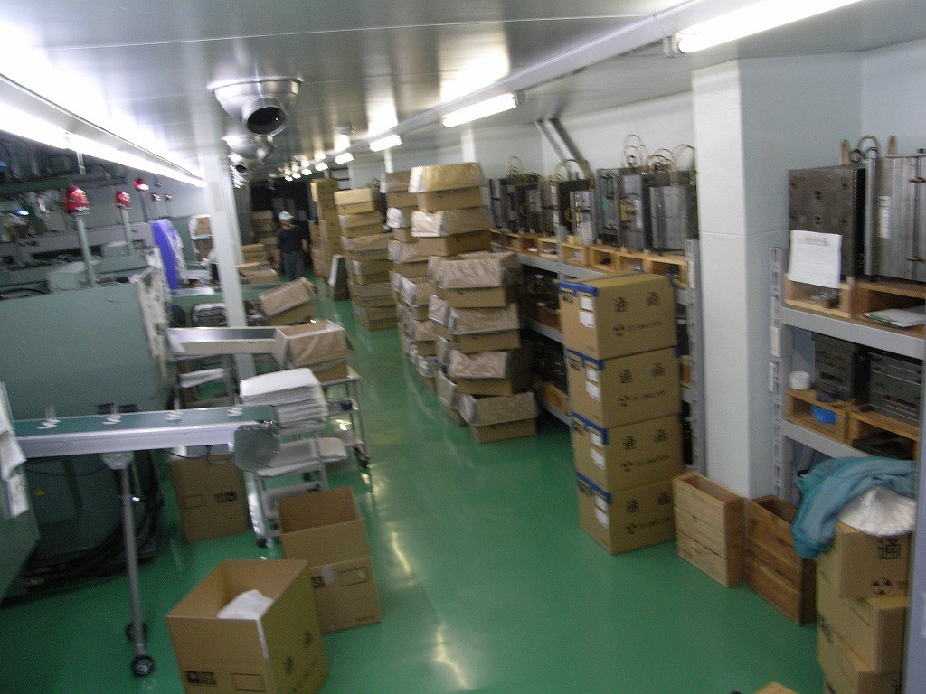 ヨネプラの製造工場
