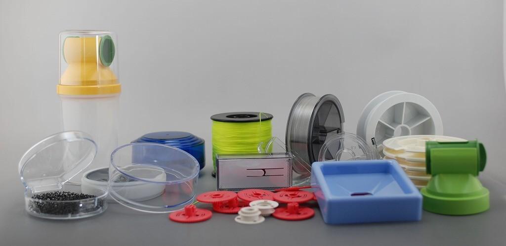 様々なプラスティック製品